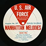 Dave Pell / Manhattan Melodies -US Air Force Recruiting Service Transcription LP