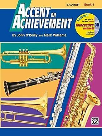 Accent on Achievement, Bk 1: Baritone B.C., Book & CD by John OReilly Mark Williams(1997-04-01)