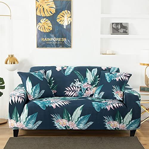 WXQY Pet Ecksofa Schutzhülle elastische Wohnzimmer Sofabezug geometrische Muster rutschfeste Sofa Schutzhülle A7 1-Sitzer