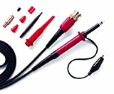 PeakTech BNC Sonda de Osciloscopio 250MHz con accesorios, 100: 1, 1pieza, P TK de 250/...