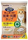 ニャンとも清潔トイレ 脱臭・抗菌チップ 大きめの粒 4.4L