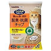 ニャンとも清潔トイレ 脱臭・抗菌チップ 大容量 大きめ 4.4L [猫砂] システムトイレ用 4.4リットル (x 1)