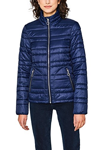 edc by ESPRIT Damen 018CC1G012 Jacke, Blau (Navy 400), Medium