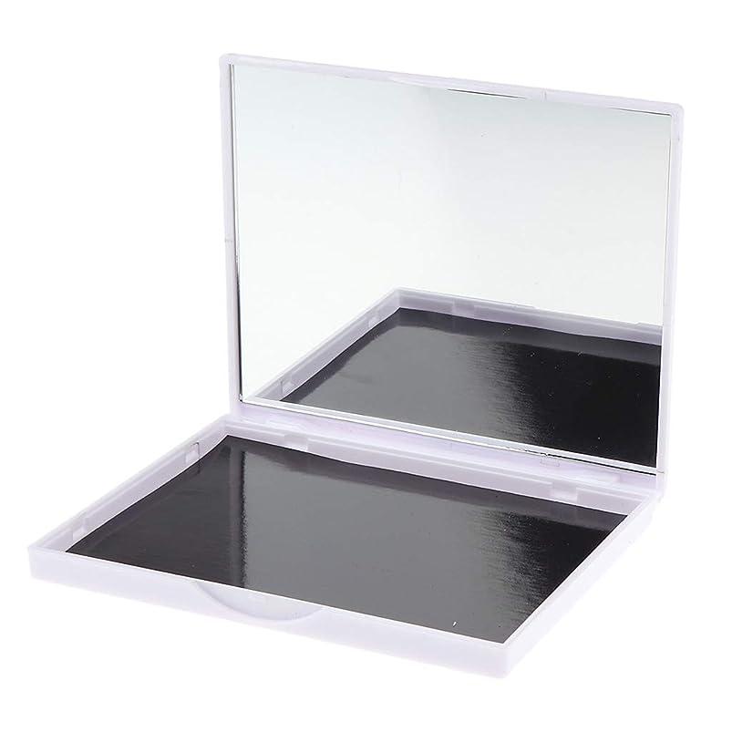 F Fityle 磁気パレット メイクアップ 化粧パレット アイシャドウ コスメ DIY 4タイプ選べ - ピンクローズフラワー