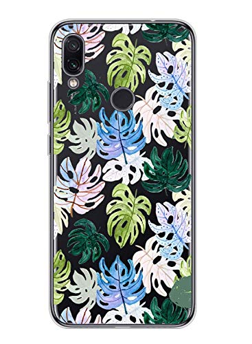 Suhctup Compatible pour Xiaomi Poco X3 Coque Silicone Transparent Ultra Mince Étui avec Clear Mignon Fleurs Motif Design Housse Souple TPU Bumper Anti-Choc Protection Cover,A11