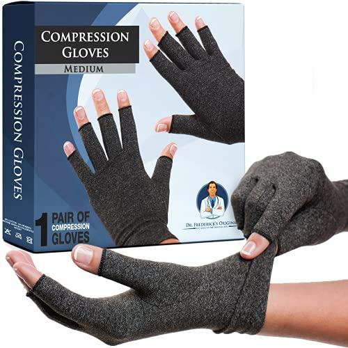 Dr. Frederick's Original Arthritis Gloves for Women & Men - Compression for...