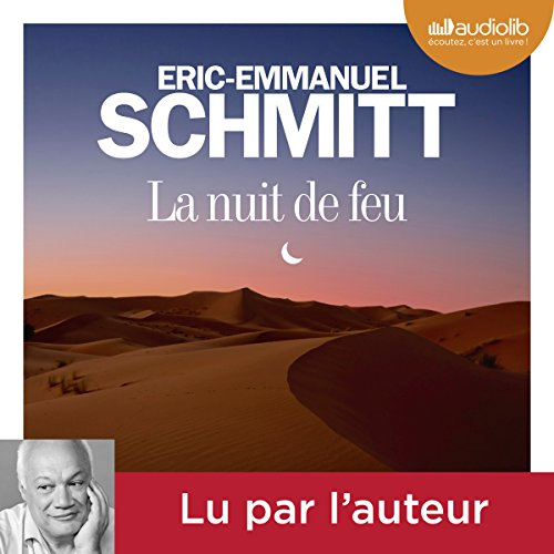La nuit de feu audiobook cover art