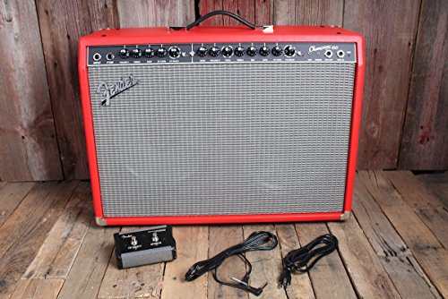 Fender Limited Edition Champion 100 Electric Guitar Amplifier-Fiesta Red (Amazon Exclusive)...