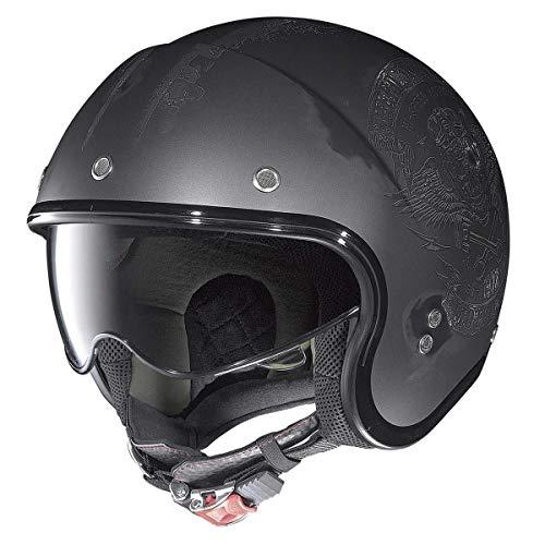 Nolan N21 Jethelm Speed Junkies matt-lavagrau/schwarz XS - Motorradhelm