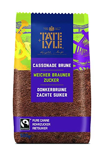Tate & Lyle Dark Brown Soft Sugar, 5er Pack (5 x 500 g)