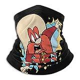 ZVEZVI Looney Tun-ES Yo_Semi-Te Sam Unisex Microfibra Cuello Calentador Cara Mas-k Protección Uv Cuello al aire libre Polaina Bandanas