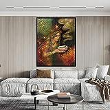 tzxdbh Impresión De La Diosa Sabia Mito Pagano Psicodélico Bohemio Gitano Bruja Lámina Y Póster Lienzo Pintura Imagen50X70