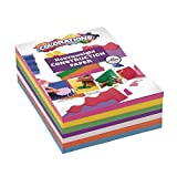 Colorations Construction Paper for Kids | 7 Colors - 600 Bulk Sheets of 9X12 - Assorted Pack of Heavy Duty Craft Paper