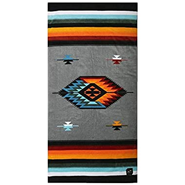 Slowtide - Valen Beach Towel | 100% Cotton Velour - Hanging Loop - 60 x 30 Inches