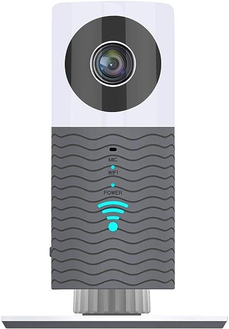Clever Dog - Cámara inalámbrica de seguridad para el hogar (segunda generación 960P 120 grados visión nocturna detección de movimiento)