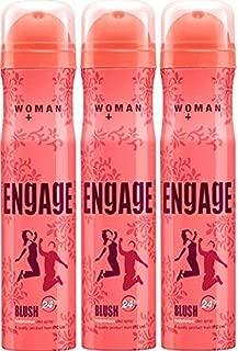 Engage Women's Bodylicious Deodorant Spray (165ml) - Pack of 3