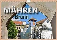 Maehren - Bruenn (Wandkalender 2022 DIN A4 quer): Bruenn, ein kulturelles und administratives Zentrum von Suedmaehren mit tausendjaehriger Geschichte (Monatskalender, 14 Seiten )