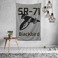 タペストリー Sr-71 Blackbird ブラックバード ピクニックテーブルカバーとカーテン 壁掛けタペストリー 寝室 壁掛け布 壁飾り ブランケット ビーチタオル 装飾 ウォール 吊り ビーチ タオル リビングルーム 部屋 窓カーテン 個 ソファカバー カウチ 毛布