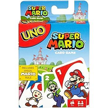 UNO Super Mario You Super Mario Bros and a Game of UNO!
