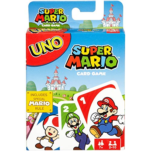 Le jeu Uno version Super Mario