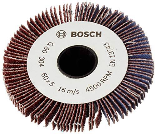 Bosch 5 mm Lamellenrolle Körnung 80