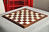 The House of Staunton Indian Rosewood & Maple Wooden Chess Board - 2.25' with Notation & Logo