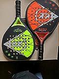 Dunlop Rapid Power/Control - Juego de palas de padel (incluye 3 pelotas)
