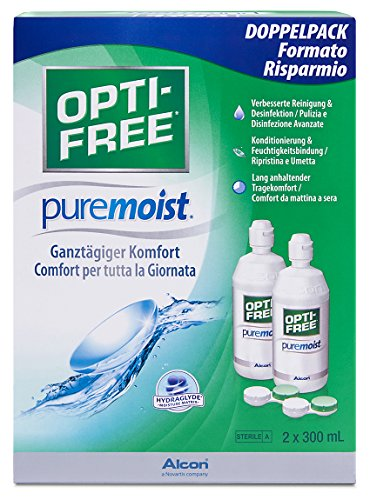Opti-Free PureMoist Pflegemittel, Vorratspackung 600 ml