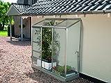 Gartenwelt Riegelsberger Anlehngewächshaus Ida - Ausführung: 1300 HKP 4 mm Alu, Fläche: ca. 1,3...