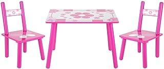 Ensemble table et chaise de peinture pour enfants en bois avec table et chaise