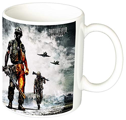 MasTazas Battlefield Bad Company 2 Vietnam Taza Ceramica 11 oz ≈ 325 ml