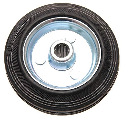 Kraftmann ruota in gomma, 100 mm, cerchi in acciaio, 80959