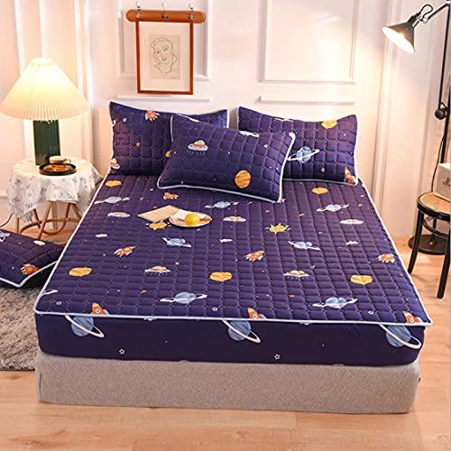 BOLO El juego de cama está hecho de tela suave, fácil de cuidar la ropa de cama, 180 cm x 200 cm