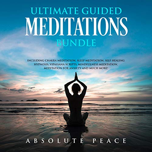 Ultimate Guided Meditations Bundle audiobook cover art