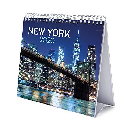 Erik, Calendario de Escritorio Deluxe 2020 New York, 17x20 cm