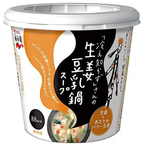 永谷園 「冷え知らず」さんの生姜豆乳鍋カップスープ 29.5g×6個入×(2ケース)