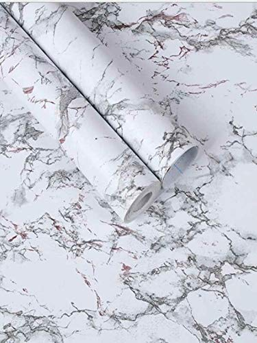 PVC Marmer Patroon Print Behang Lengte 1000cm Breedte 45cm