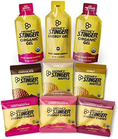 Honey Stinger Training Kit 9 Count Plus Sticker Energy Source for Any Activity 3 Organic Waffles product image