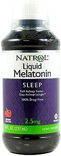 Natrol Melatonin 2.5 mg Liquid 8 oz (Pack of 4)