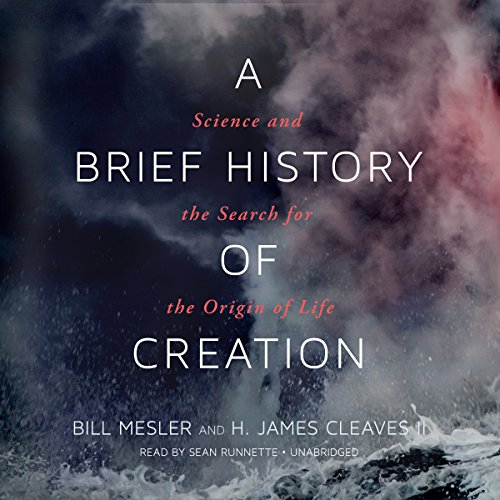 A Brief History of Creation audiobook cover art