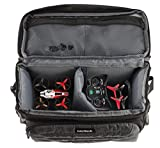 Navitech Grey Drone/Quadcopter Carry Bag Case Compatible with The Virhuck T915 2.4 GHz Mini RC Drone