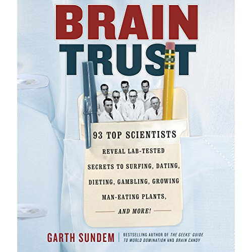 Brain Trust audiobook cover art