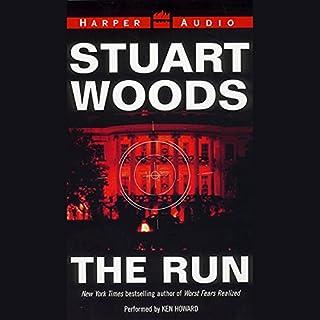 The Run audiobook cover art