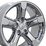 OE Wheels LLC 20 Inch Fits Chrysler Aspen Dodge Dakota Durango Ram 1500 RAM 1500 Style DG56 Chrome 20x9 Rim Hollander 2267