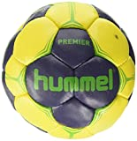 hummel Handball Premier Balle Mixte Adulte, Blue/Yellow/Green, 1