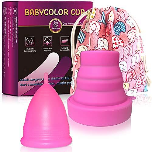 Copa Menstrual - copa menstrual más recomendada-Incluye una bolsa de regalo -...
