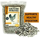 Country Heritage Full Sized Poultry Grit Insoluble Crushed Granite for Chickens and Ducks 5 Pounds