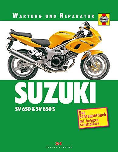 Suzuki SV 650 & SV 650 S: Wartung und Reparatur