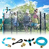 Wishstar Trampolin Wassersprinkler, Trampolin Sprinkler für Kinder, Sommer Outdoor Trampolin Wasser...
