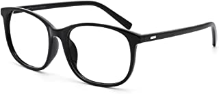 Cyxus Blue Light Blocking Glasses Anti Eyestrain Computer Glasses UV Filter Clear Lens Oversize Frame Eyeglasses(8121T01)